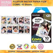 <b>Fujifilm</b> Instax Paper COMIC Instant Film <b>Original</b> - <b>10 Sheets</b> ...