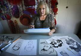 marsha hendricks a former federal government employee is a caricature artist face painter