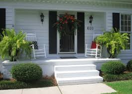 front porch potted plants ideas tips entrancing image of accessories for front porch decoration