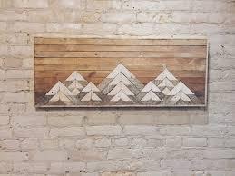 Reclaimed Wood Wall Art Reclaimed Wood Wall Art Wall Decor Twin Headboard Lath