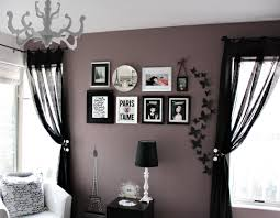 Love & Lace: A purple accent wall Paint color: Valspar Lilac gray. Love  this wall color.