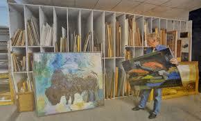 painting storage rack