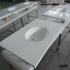 sophisticated bathroom sinks and countertops solid surface molded sink solid surface molded sink molded sink