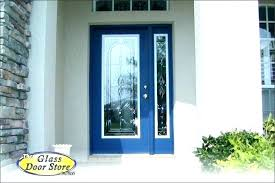 front door with sidelights that open single exterior doors for modern style sidelight fiberglass entry on