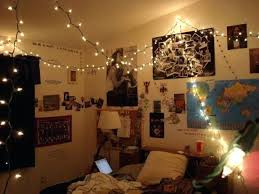 hipster bedroom decorating ideas. Decorating Bedroom With String Lights Vintage Hipster Ideas White Hanging Led Beige Solid Wood Bookcase Decorate D