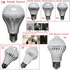 Day And Night Light Sensor Led Bulb Led Motion Sensor Night Light E27 Led Bulb 3w 5w 7w 9w 12w
