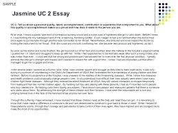 College Application Essays That Worked Uc Transfer Essays Examples Example Sample College Essay Yomm