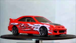 Honda Civic Si Hot Wheels 2001 First Editions - YouTube