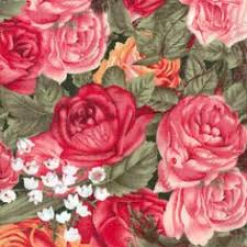Big Horn Quilt Shop - spring mix floral   blanket fabrics ... & Big Horn Quilt Shop - 5 inch scanPacked RosesFloral from Home Sweet Home by  Windham Adamdwight.com