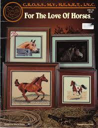 For The Love Of Horses Counted Cross Stitch Csb 135