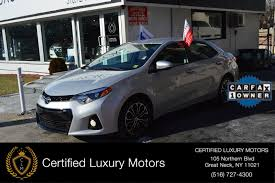 2015 Toyota Corolla S Stock # 2084 for sale near Great Neck, NY ...