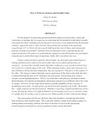 Abstract Essay Format Tips For Writing Conference Paper Abstracts Department Of History
