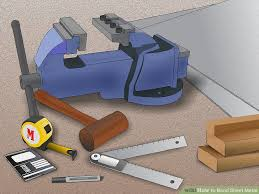 sheet metal bending hand tools how to bend sheet metal 13 steps with pictures wikihow