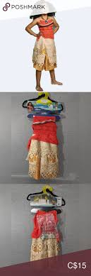 Disguise Size Chart Disguise Disney Moana Deluxe Child Costume Nwt In 2019