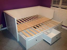 ... Hemnes Daybed Frame With 3 Drawers White Twin ...