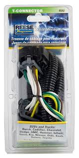 amazon com reese towpower 85262 replacement oem tow package wiring reese wiring harness for 2018 ram 2500 amazon com reese towpower 85262 replacement oem tow package wiring harness automotive