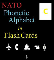 The international radiotelephony spelling alphabet known as the nato phonetic alphabet or the icao phonetic alphabet, is the most used radiotelephone spelling alphabet. Nato Phonetic Alphabet In Flash Cards By Edward Ross
