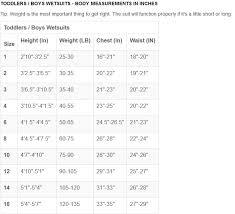 Billabong Boys Size Chart Billabong Absolute 3 2mm Back Zip Wetsuit Boys