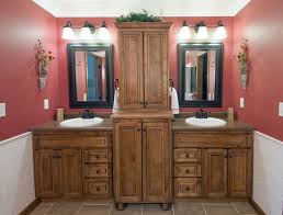 bathroom cabinets double sink. Double Vanity Adds Interest With Varied Heights And Depths. Custom Cabinetry; Bathroom Cabinets Sink H