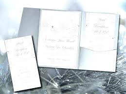 snowflakes wedding invitations snowflake diy