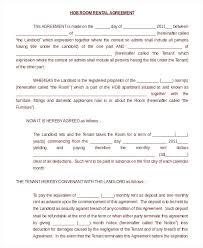 Standard Lease Agreement Fresh Roommate Template Room Rental ...