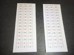 Hha Sight Tape Chart Hha Sight Tape For Optimizer Lite Sights 26 20 Picclick