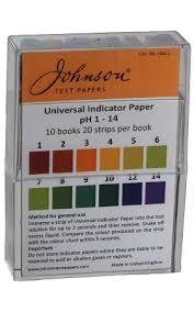 Universal Indicator Chart Ph Universal Indicator Ph 1 14
