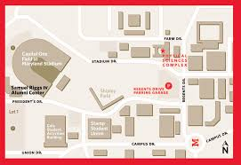 University Of Maryland Byrd Stadium Seating Chart Directions To The Physical Sciences Complex College Of