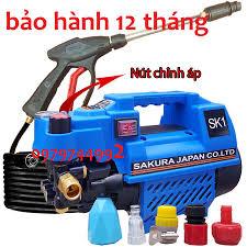 Máy Rửa Xe Mini .máy Chỉnh Áp SAKURA. Japan SK1. Công Suất 2400W. Có chỉnh  áp trên thân máy.cam kết lõi đồng 100% chính hãng 1,240,000đ