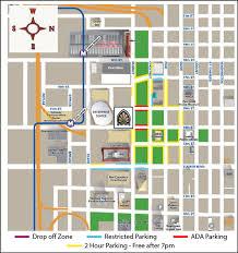 Parking Area Maps Stifel Theatre