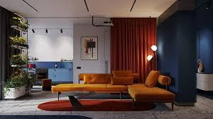 contrasting colour schemes
