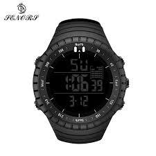 <b>SENORS Sport Watches Mens</b> Quartz Watch Waterproof Silicone ...
