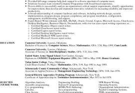 Certified Resume Writer Training Resume For Employee Training