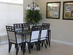 black metal dining chairs. Dining Room:Minimalist Room Set Come With Black Metal Table Also Enchanting Gallery Chairs