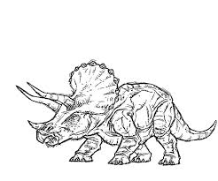 Small Picture Jurassic park triceratops coloring pages ColoringStar