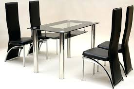 glass dining table with chairs innovative small glass dining room table furniture small square glass dining