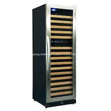 china 168bottles seamless glass door doual zone built in wine refrigerator china wine cooler wine refrigerator