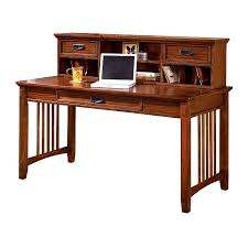 mission craftsman oak desk and hutch view images