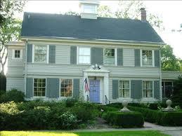 exterior colonial house design. House Exterior Colonial Design
