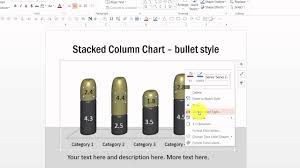 Custom Chart Custom Your Data Driven Column Charts In Powerpoint Graphs Pack