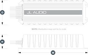 mhx280 4 marine audio amplifiers electronics mhx jl audio physical specifications