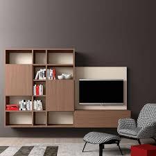 Italian Design Living Room Italian Design Tv Media Unit Minimalist 3 By Morassutti Wall