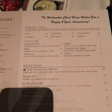 The Chart House Weehawken Nj Brunch Menu Chart House 2016 Photos 1330 Reviews Seafood 1700