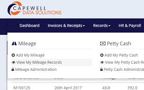 Mileage Records Edit My Mileage Records Capewell Data Solutions Support Hub
