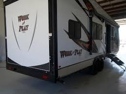 used toy haulers in california new york texas florida and ohio forest river work and play
