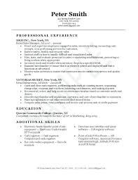 Sample Resume For Part Time Job Retail Sales Resume Part Time Sales