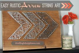 tree wall decor art youtube: easy rustic arrow string art dwelling in happiness ive seen for awhile now all over pinterest