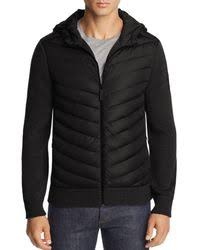 Canada Goose - Hybridge Mixed-media Knit   Down Hoodie - Lyst