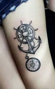 50 Most Breathtaking Compass Tattoos Ideas Mybodiart