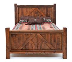 Barn Wood Bed, Reclaimed Wood Bed, Western Bed, Lodge